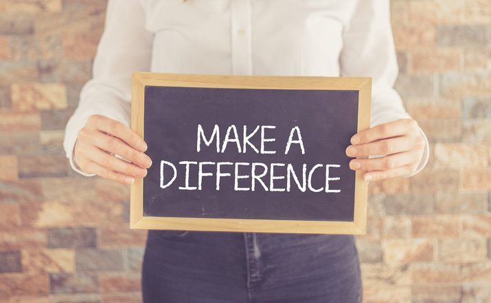 HOW One Person Can Make a Difference